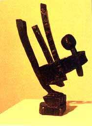 Escultura de Segio Cerón.
