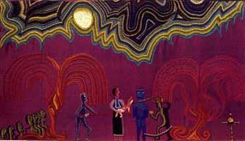 Fiesta y Caupolicán, Violeta Parra