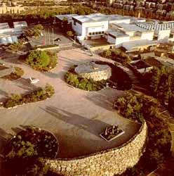 Museo de Israel desde el aire